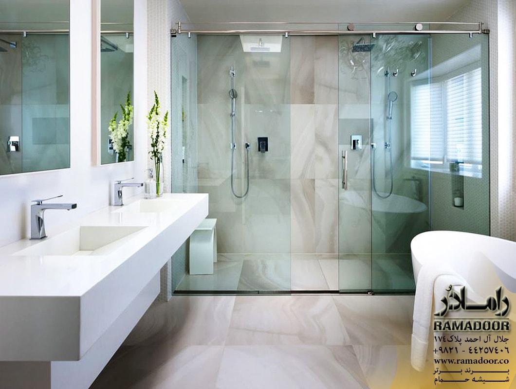 شیشه حمام ریلی اسپایدری(4)