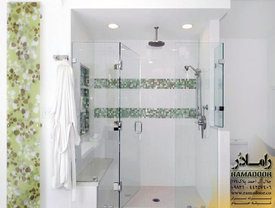 شیشه حمام لولایی (5)