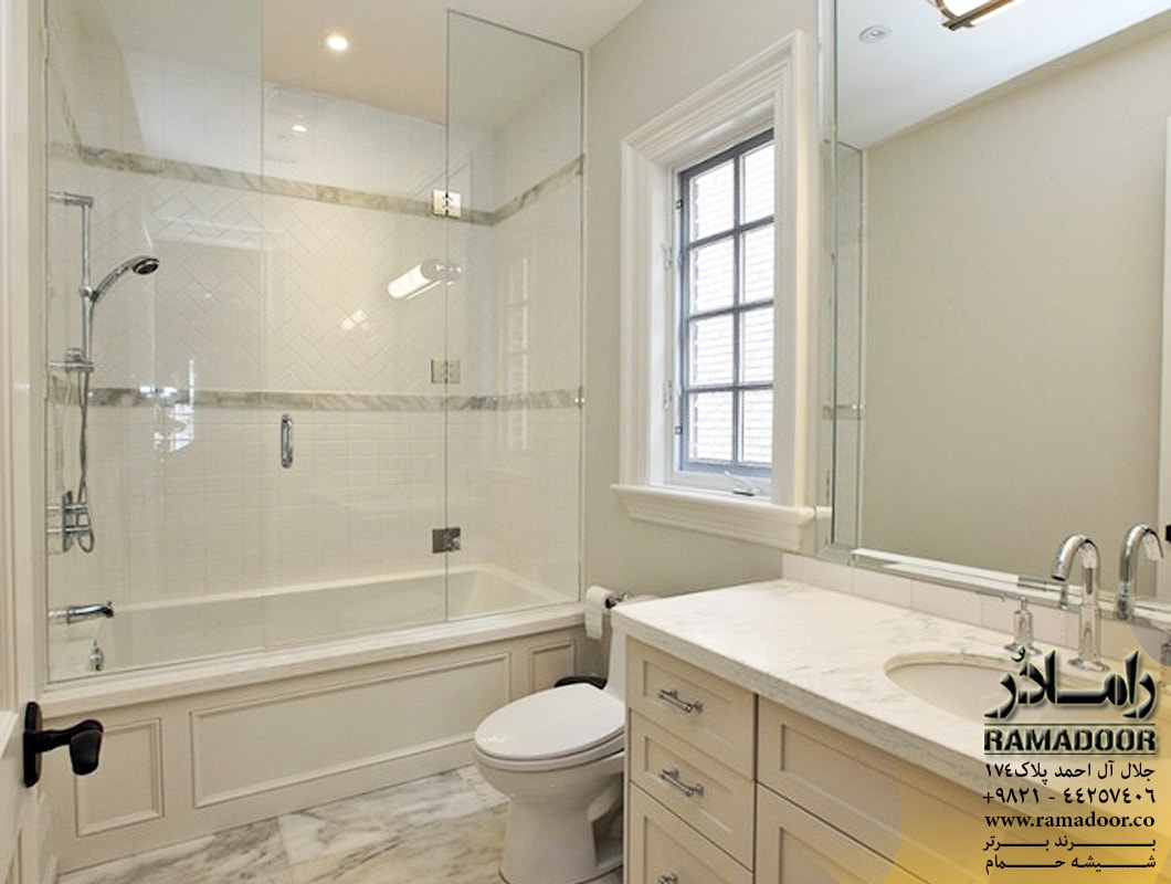 شیشه حمام لولایی (7)
