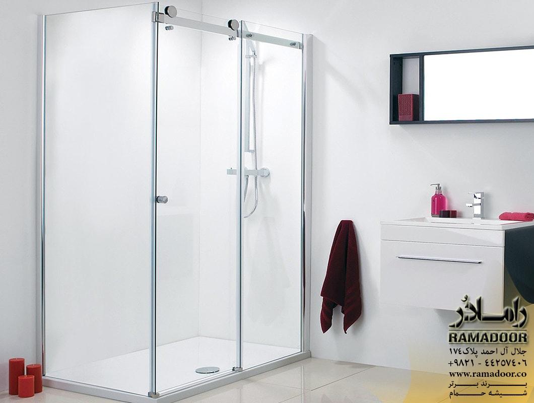 شیشه حمام ریلی اسپایدری(2)