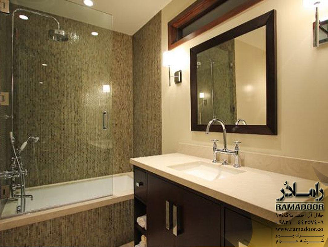 شیشه پارتیشن حمام(2)
