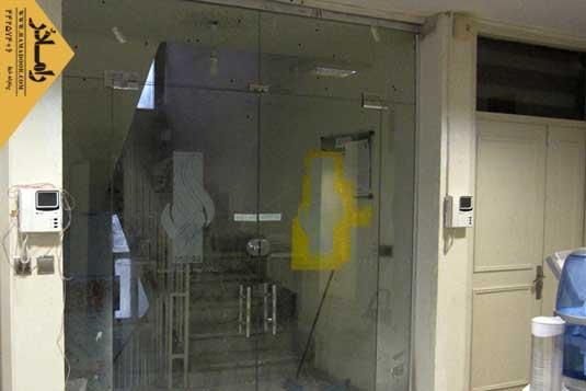 شیشه دودبند با طرح سندبلاست(23)