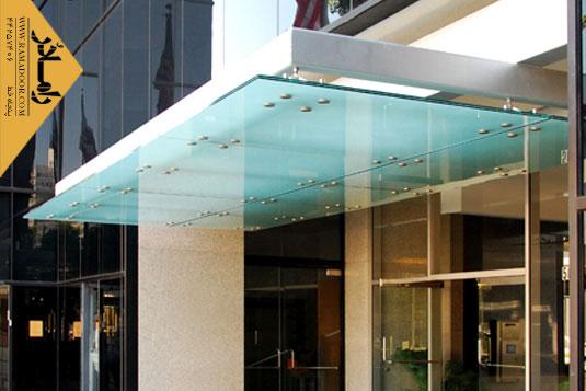 شیشه نمای اسپایدر(2)