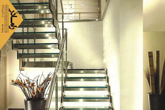 پله دست ساز تمام استیل