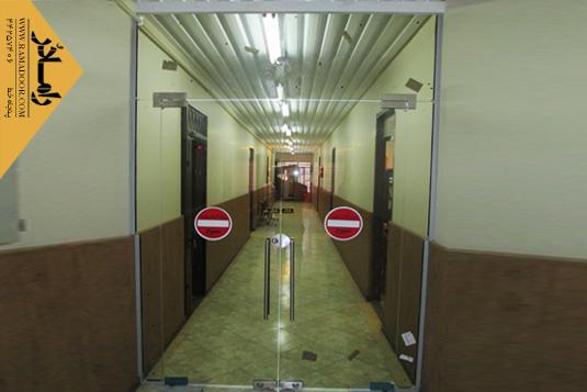 شیشه سکوریت لولایی(9)