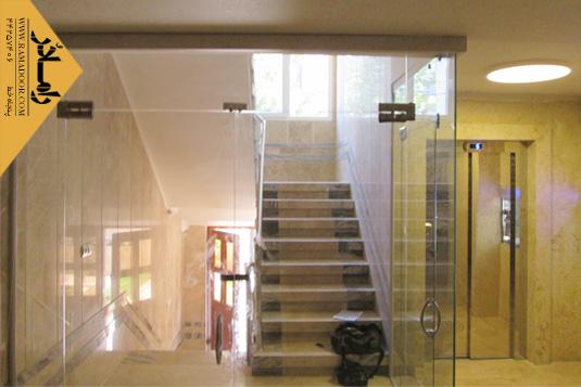 شیشه دودبند  راه پله(12)
