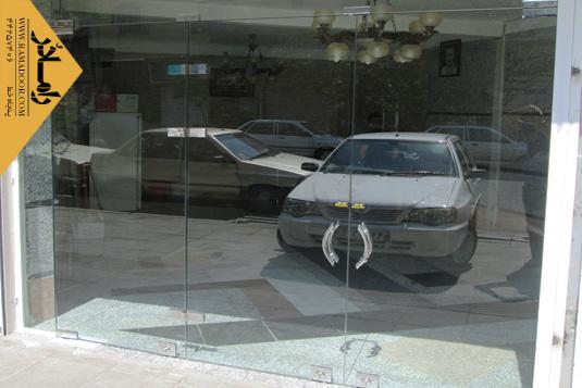 شیشه فروشگاه لولایی(6)