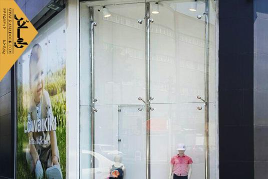 شیشه اسپایدر فروشگاه (4)